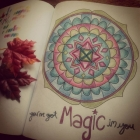 A page from the book Color for Clarity - You've Got Magic In You