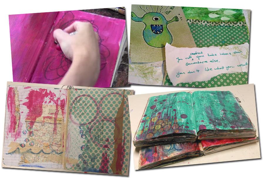 Art Journaling Roots E-Course