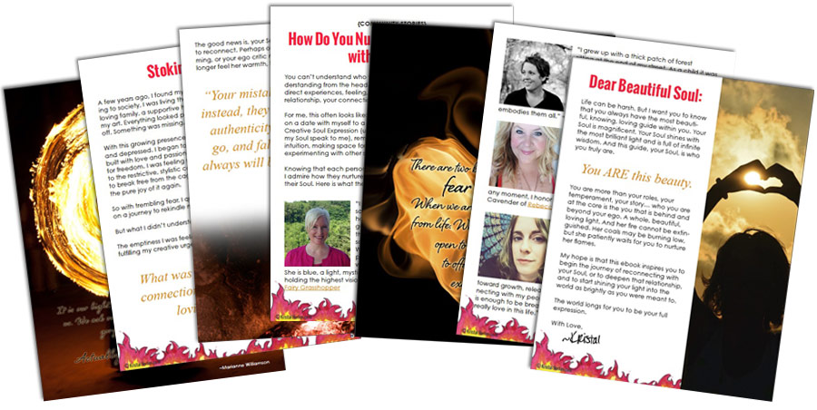 Fire E-Book Pages